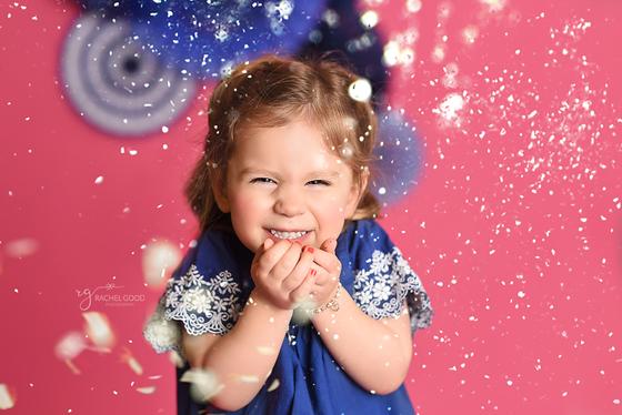Celebrating Glitter style - Lola turns 3!