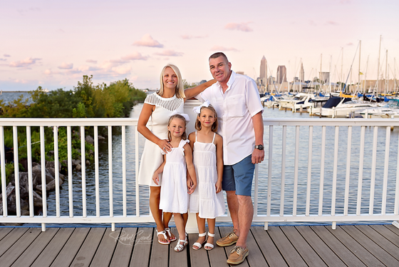 the Powell Family, Edgewater Marina and Beach