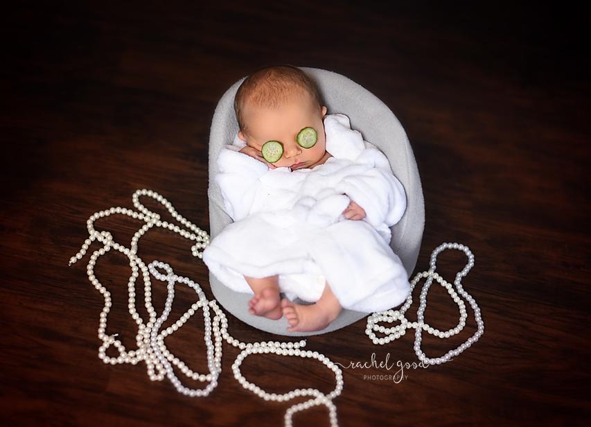 salon newborn photography