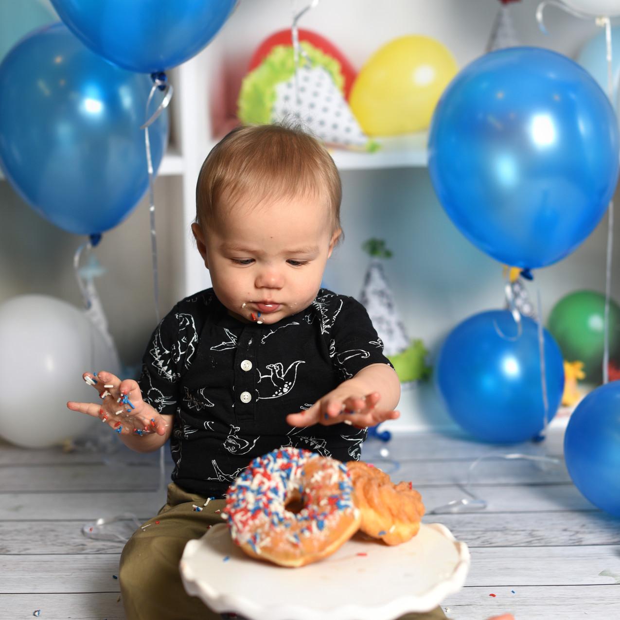 cleveland cake smash photographer
