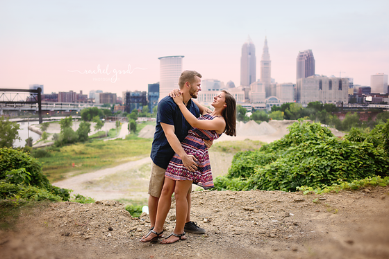 Cleveland Engagement Session {Rachael & Josh}