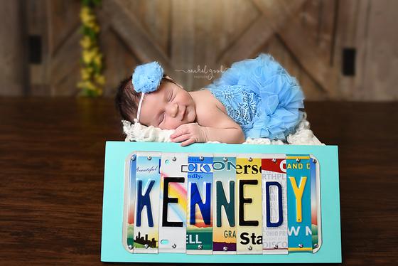 Strongsville, OH newborn photographer. Kennedy.