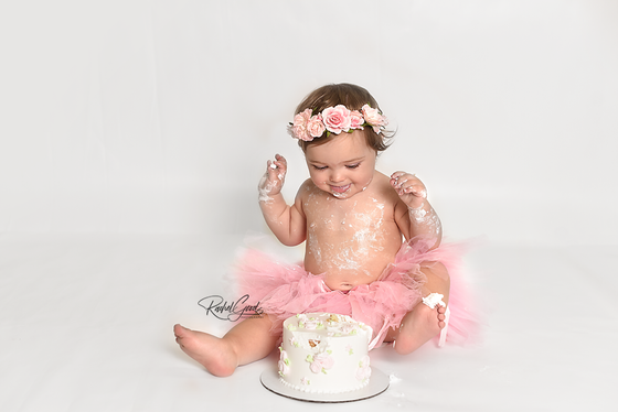 Dallas turns ONE. Cleveland, OH baby photographer