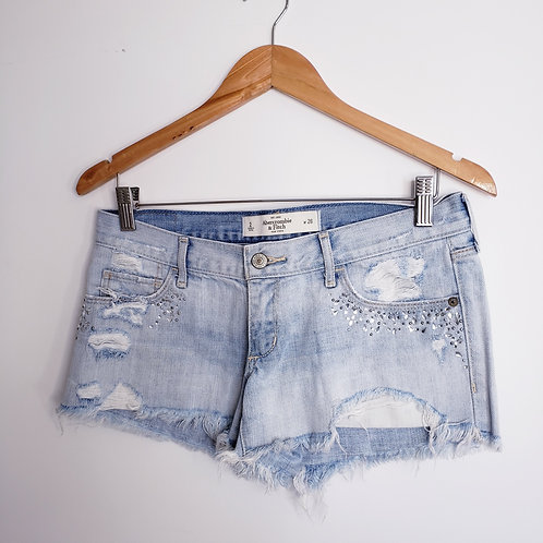 SHORT JEANS ABERCROMBIE & FITCH - TAM.36