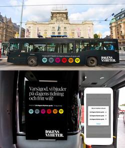 Digitalläsning på bussen