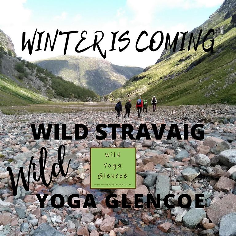 WINTER IS COMING WILD STRAVAIG
