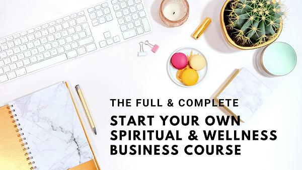 Spiritual Entrepreneur Business - WIX Co