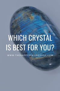 the happy healing shop which crystal is best for you size shape pinterest
