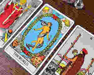 tarot card the world