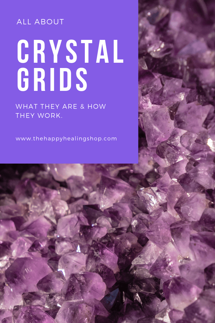 The Happy Healing Shop Crystal Grids And How They Work Pinterest