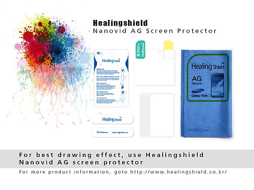 HealingShield Screen Protector for myPicasso