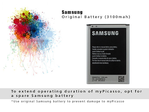 Original Samsung Battery for myPicasso