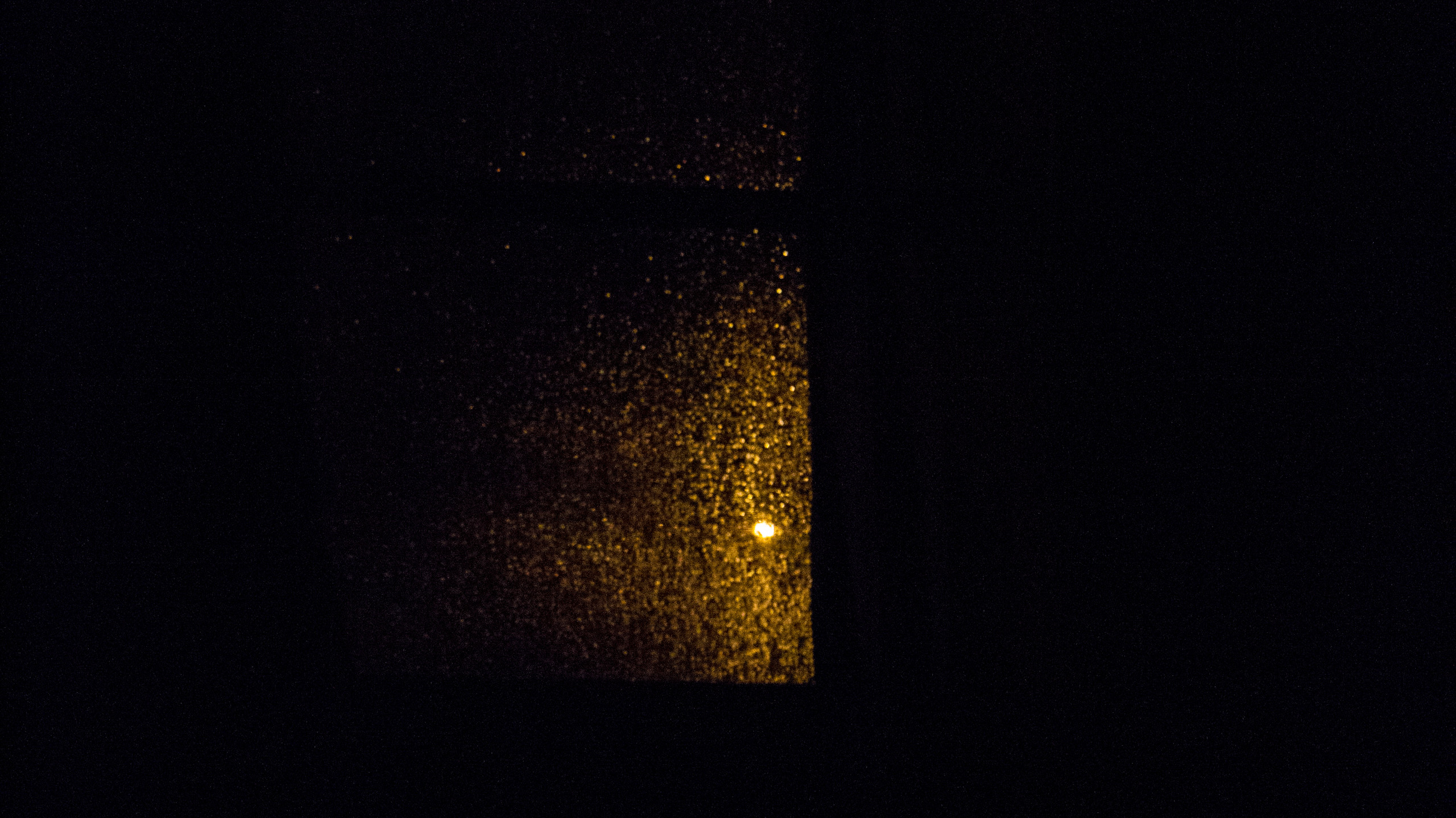 out of my window