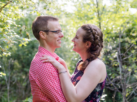 Amy and Jim's sweet portrait session