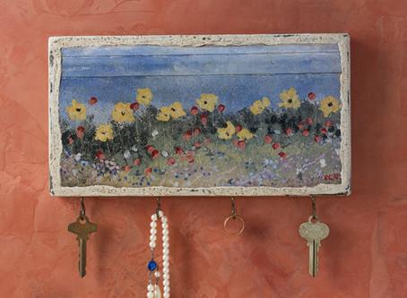 Patti Clancy's Whimsical Key Racks
