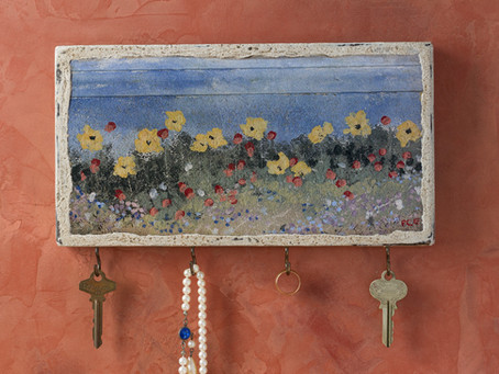 Patti Clancy's Whimsical Key Racks