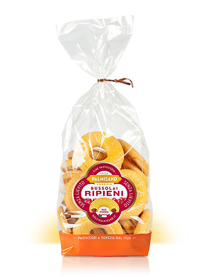 Biscotti Bussolai ripieni Palmisano