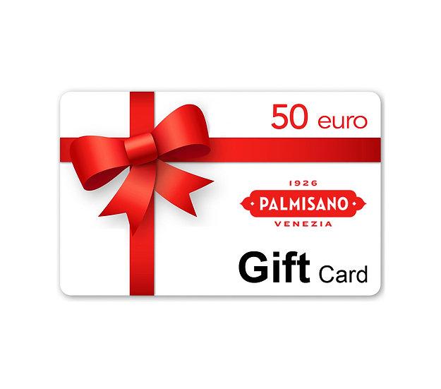 Gift Card Palmisano 50 euro
