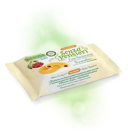 Biscotti veneziani Buranellini alla ciliegia senza glutine palmisano