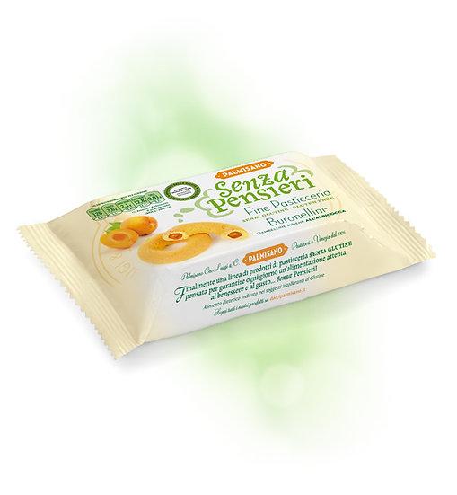 Biscotti veneziani Buranellini all'albicocca senza glutine palmisano
