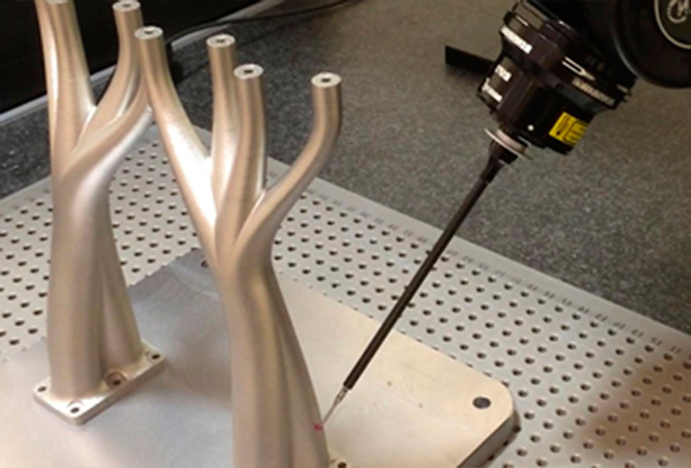 Validation of metal additive manufacturing parts