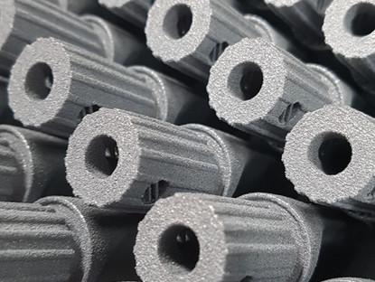Fabricación aditiva metálica para series productivas