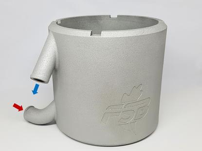 Formula Student Bizkaia diseña y fabrica su primera pieza de impresión 3D en metal junto a MADIT