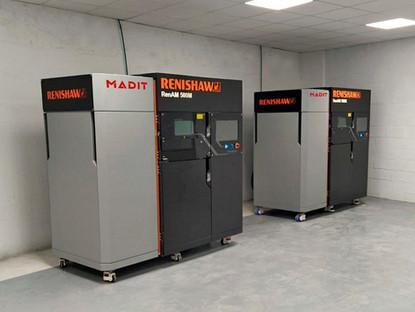 MADIT Metal apuesta por los sistemas Renishaw con la instalación de dos RenAM 500M