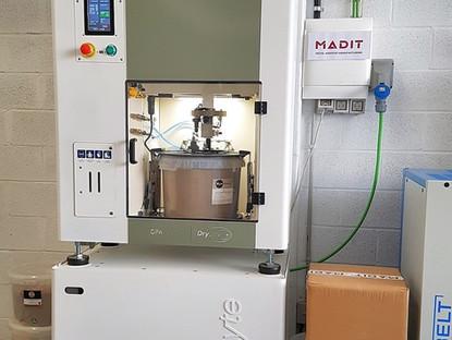 MADIT apuesta por la tecnología DryLyte de electropulido en seco de la multinacional GPAINNOVA!
