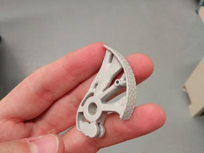 Impresión 3D de metal en el mundo de la escalada y del sector deportivo