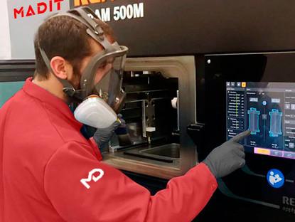 """Empresa XXI: """"Madit avanza en el desarrollo de su planta de fabricación aditiva"""""""