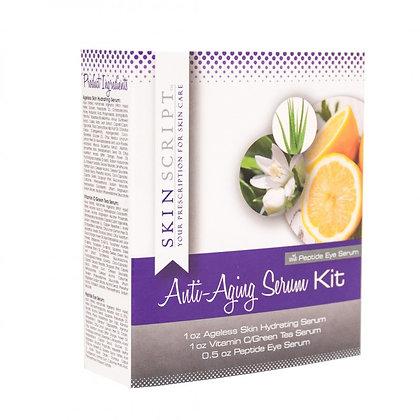 Anti-Aging Serum Kit (with Peptide Eye Serum)