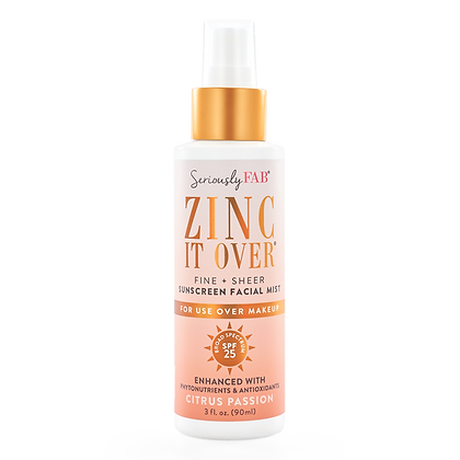 Seriously Fab Zinc It Over SPF Mist
