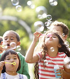 Barn Blowing Bubbles