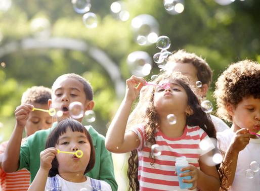Bubbles help development