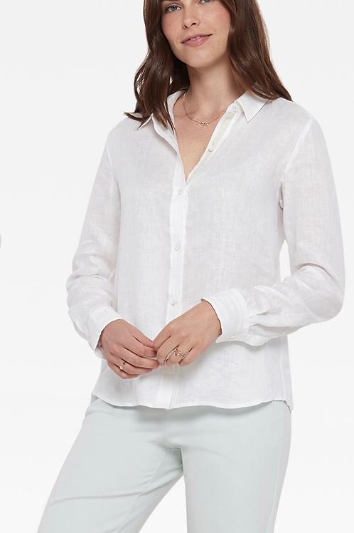 Ecru Streep shirt/ white
