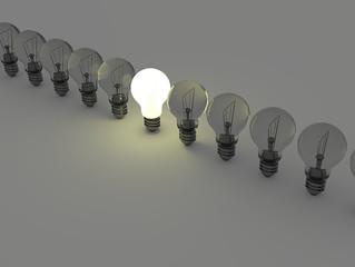 Vind energie door om te denken