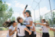 Girl's Softball Team