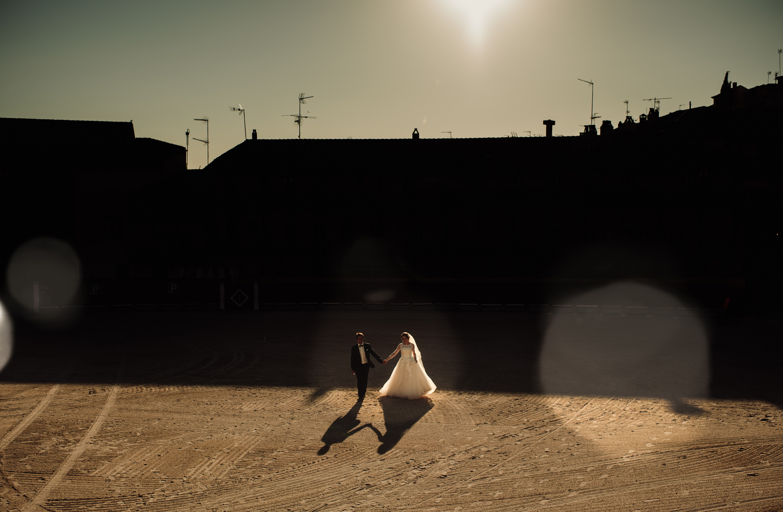 fotografo de bodas Madrid creativo