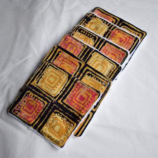 Lot de lingettes - Batik Malaisien