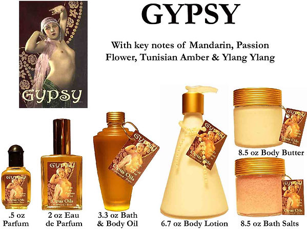Gypsy Perfume by Opus Oils