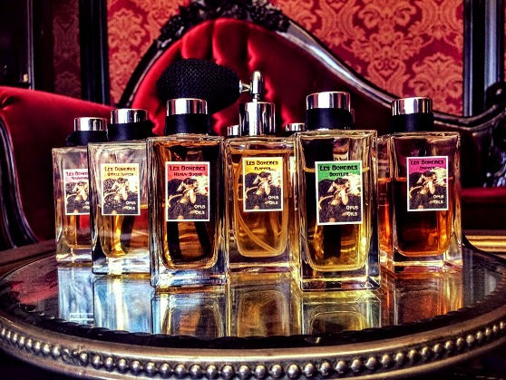 Les Bohemes Perfume Collection by Opus Oils