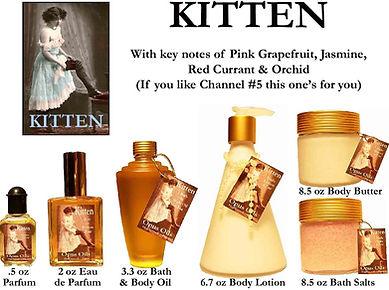Kitten Perfume by Opus Oils