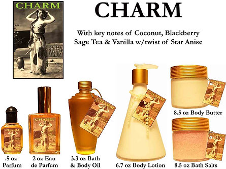 Charm 1.7 oz Fancy Atomizer (Alcohol Only)
