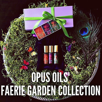 Faerie Garden Perfume Collection by Opus Oils