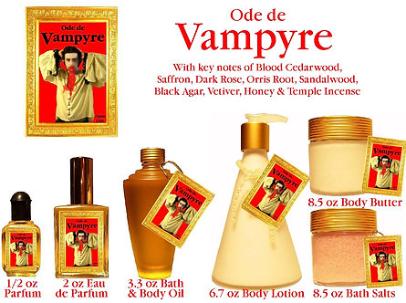 Ode de Vampyre 1/2 oz Parfum Roll-on