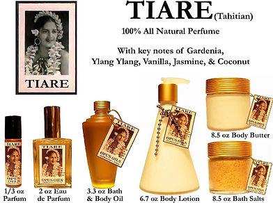 Tiare Perfume by Opus Oils