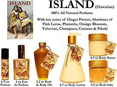 Island Perfume by Opus Oils