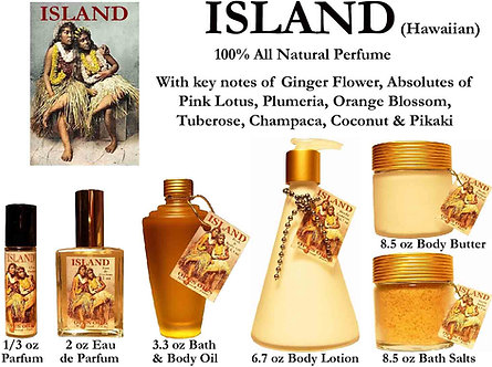 Island 1/2 oz Parfum Roll-on