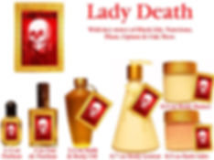 Lady Death Perfume by Opus Oils